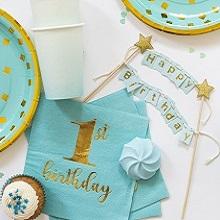 יום הולדת שנה בתכלת