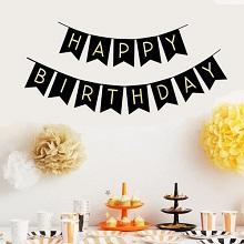 דגלוני יום הולדת שמח