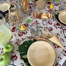 שולחן חג אקולוגי